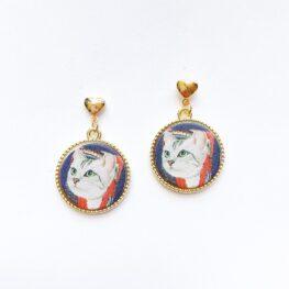 cute-clever-cat-earrings-1a