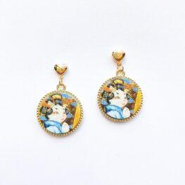 kimono-cat-earrings-1a