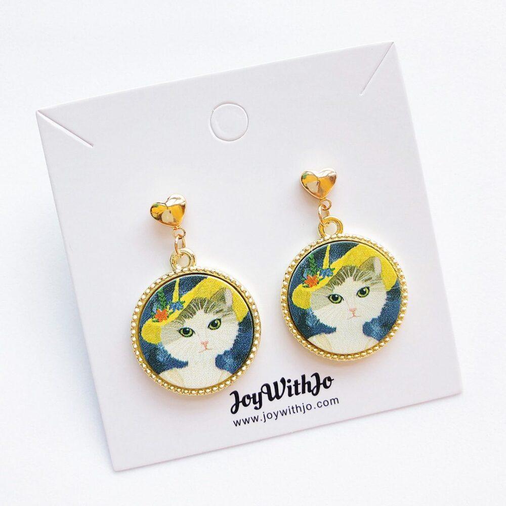 vintage-inspired-cat-earrings-1a