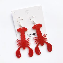 acrylic-glitter-lobster-earrings-1