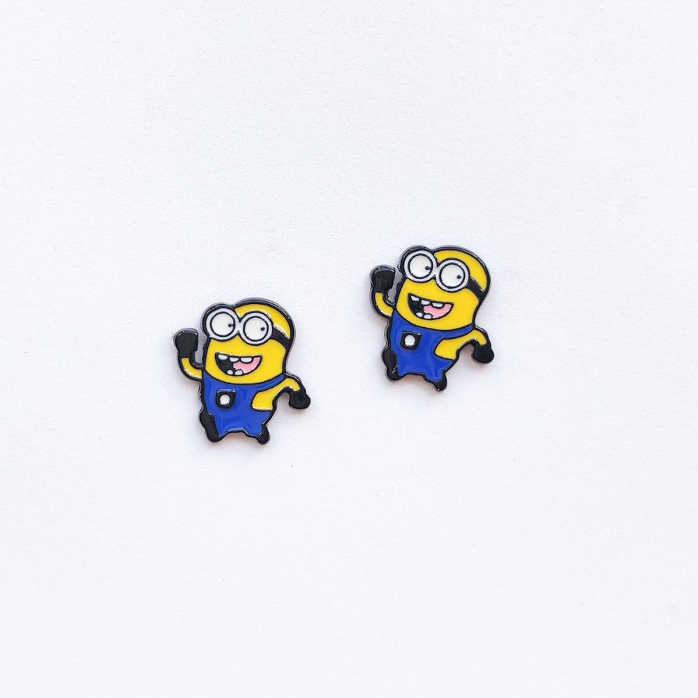 cute-minions-stud-earrings-1