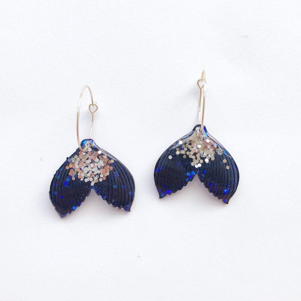 fish-mermaid-tail-glitter-hoop-earrings-blue-1