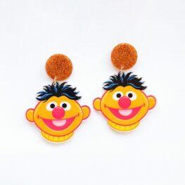 sesame-street-ernie-earrings-1a