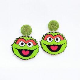 sesame-street-oscar-earrings-1a