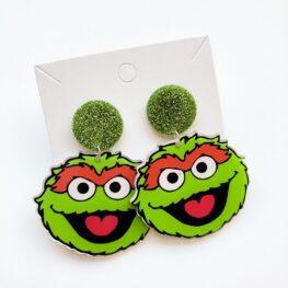 sesame-street-oscar-earrings-2a