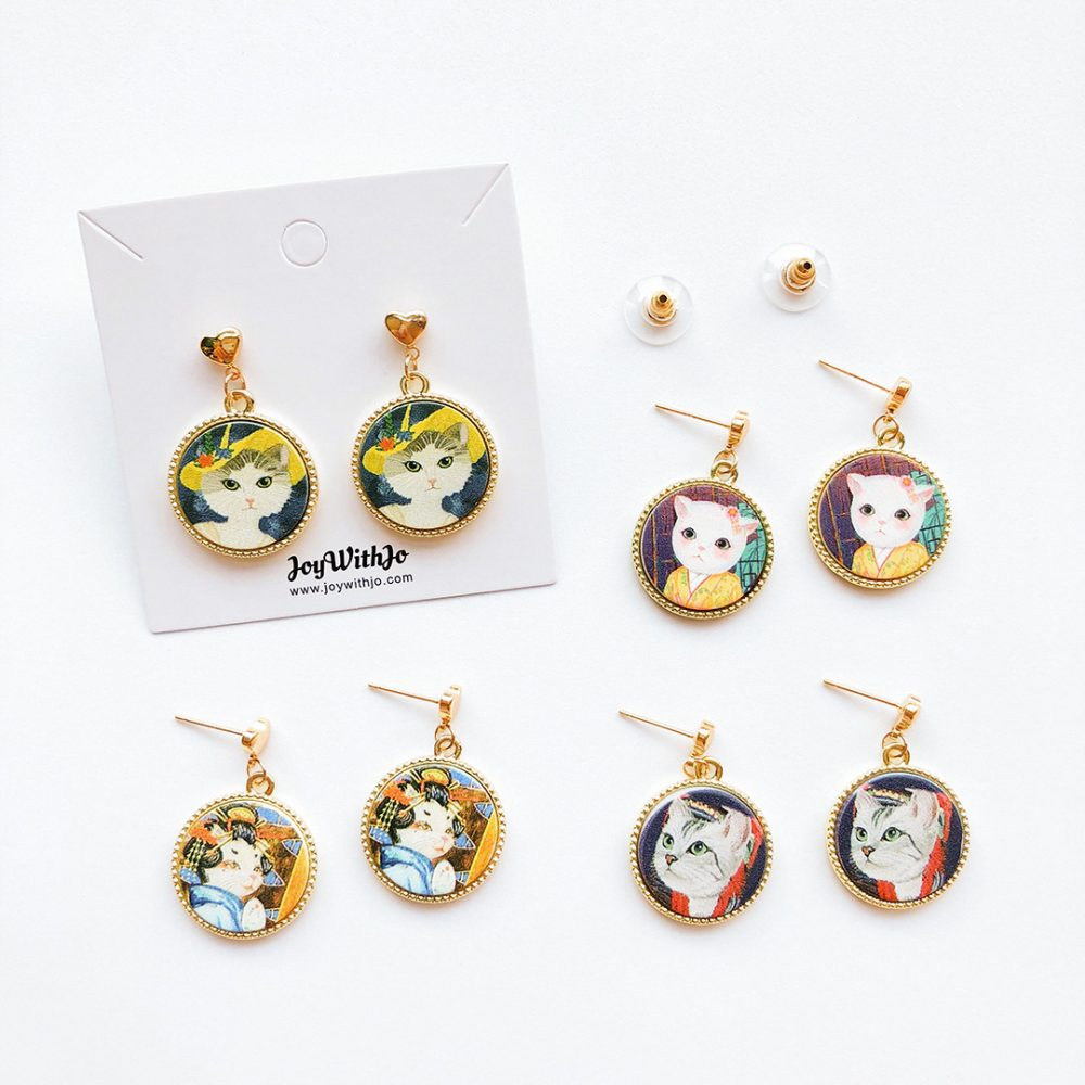 vintage-cat-earrings-1