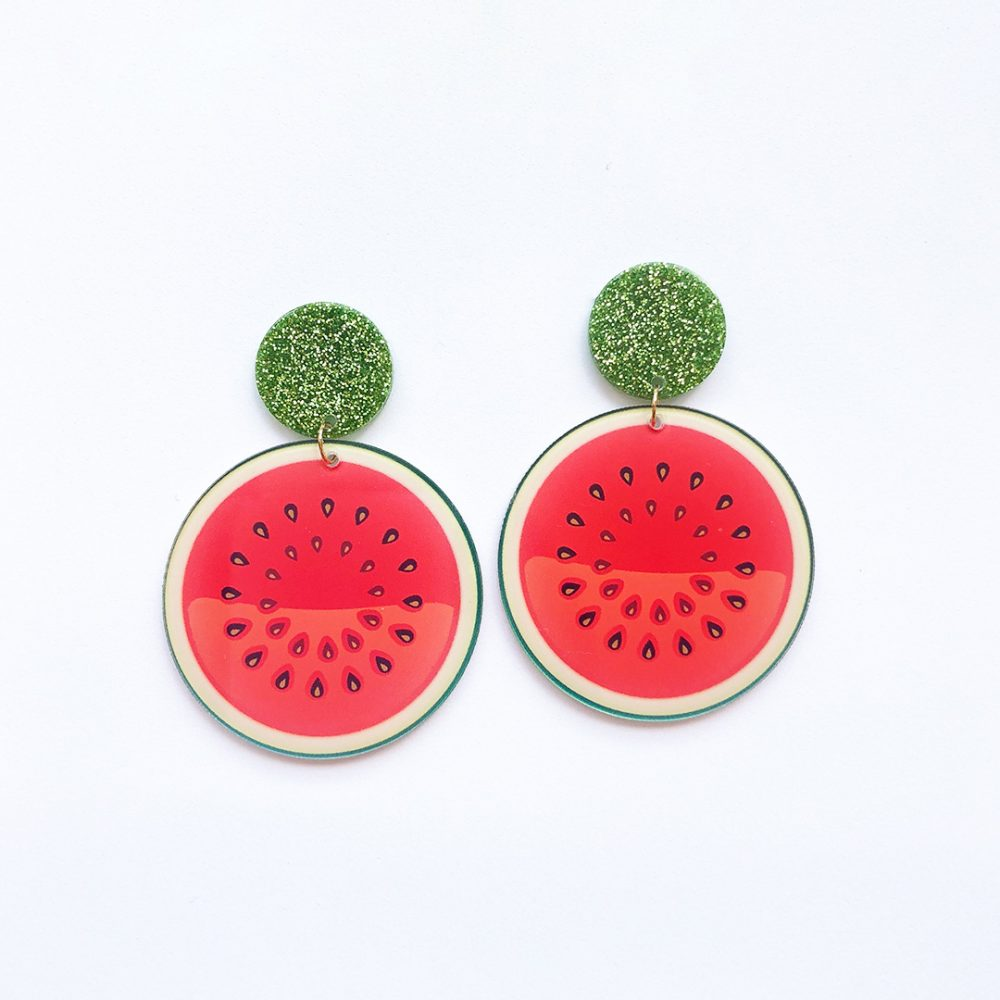 watermelon-earrings-1a