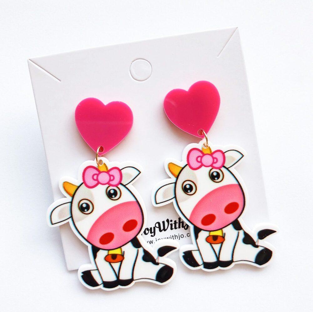 candie-cow-cute-dangle-earrings-2