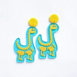 cute-acrylic-dinosaur-earrings-1