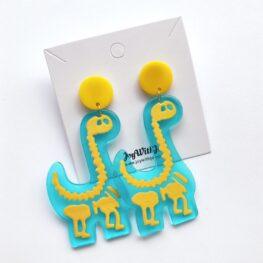 cute-acrylic-dinosaur-earrings-2