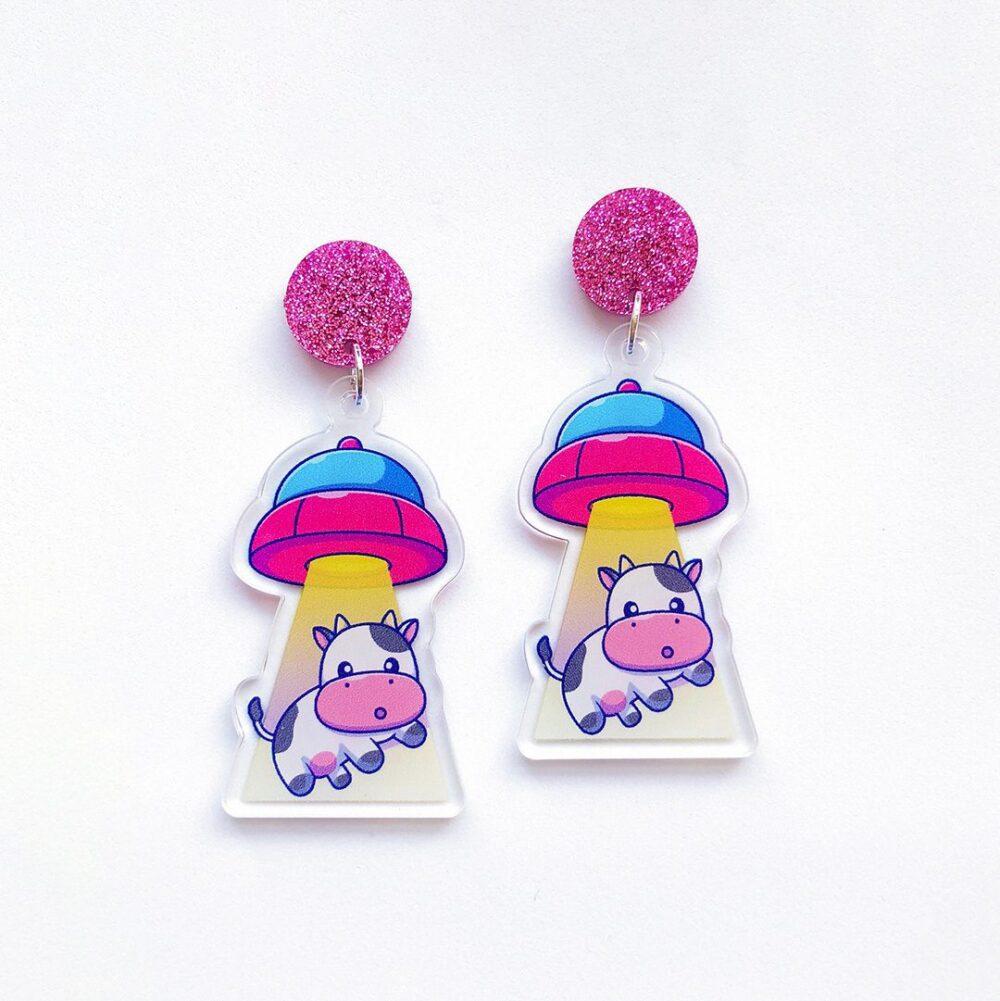 cute-alien-spaceship-cow-earrings-1b