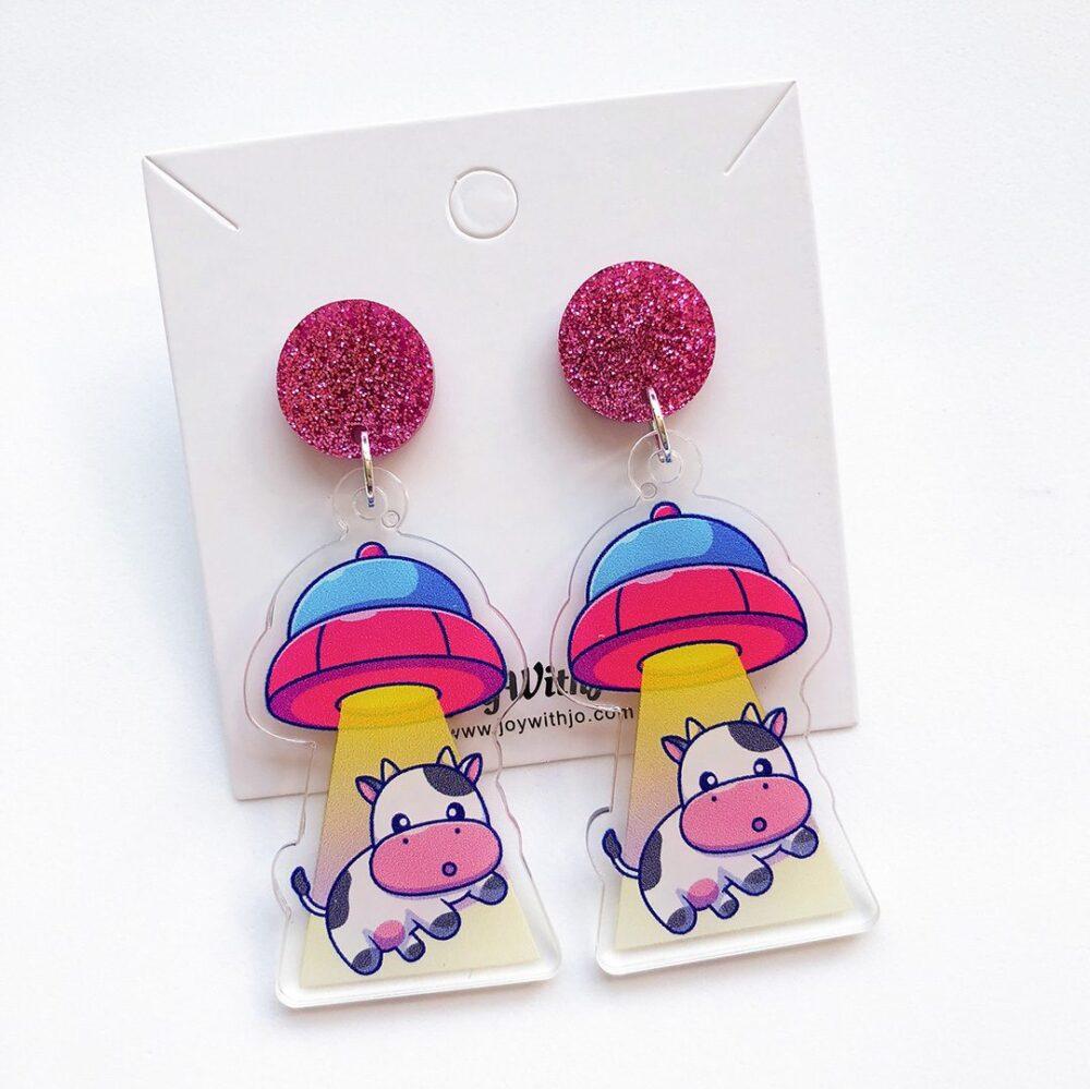 cute-alien-spaceship-cow-earrings-1