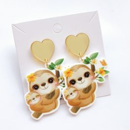 mothers-day-cute-mum-and-bub-sloth-earrings-1