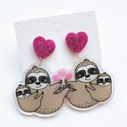 mothers-day-cute-sloth-earrings-1