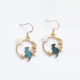 among-the-stars-cat-earrings-enamel-earrings-blue-1