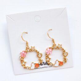 cute-floral-cat-earrings-1