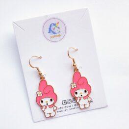 my-melody-earrings-enamel-earrings-1