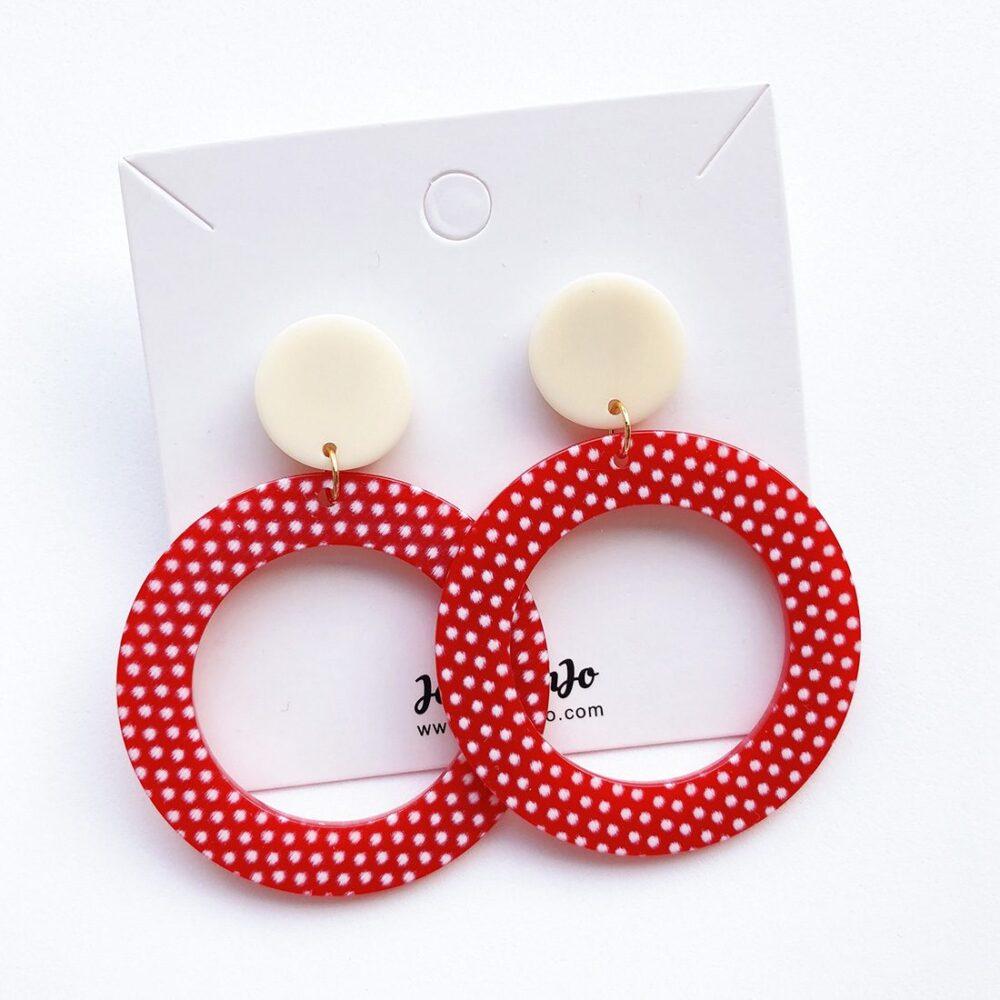 vintage-inspired-red-polka-dot-earrings-1a