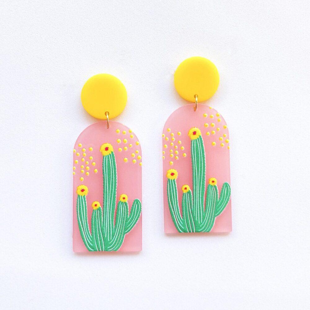 always-on-point-cactus-earrings-acrylic-earrings-1