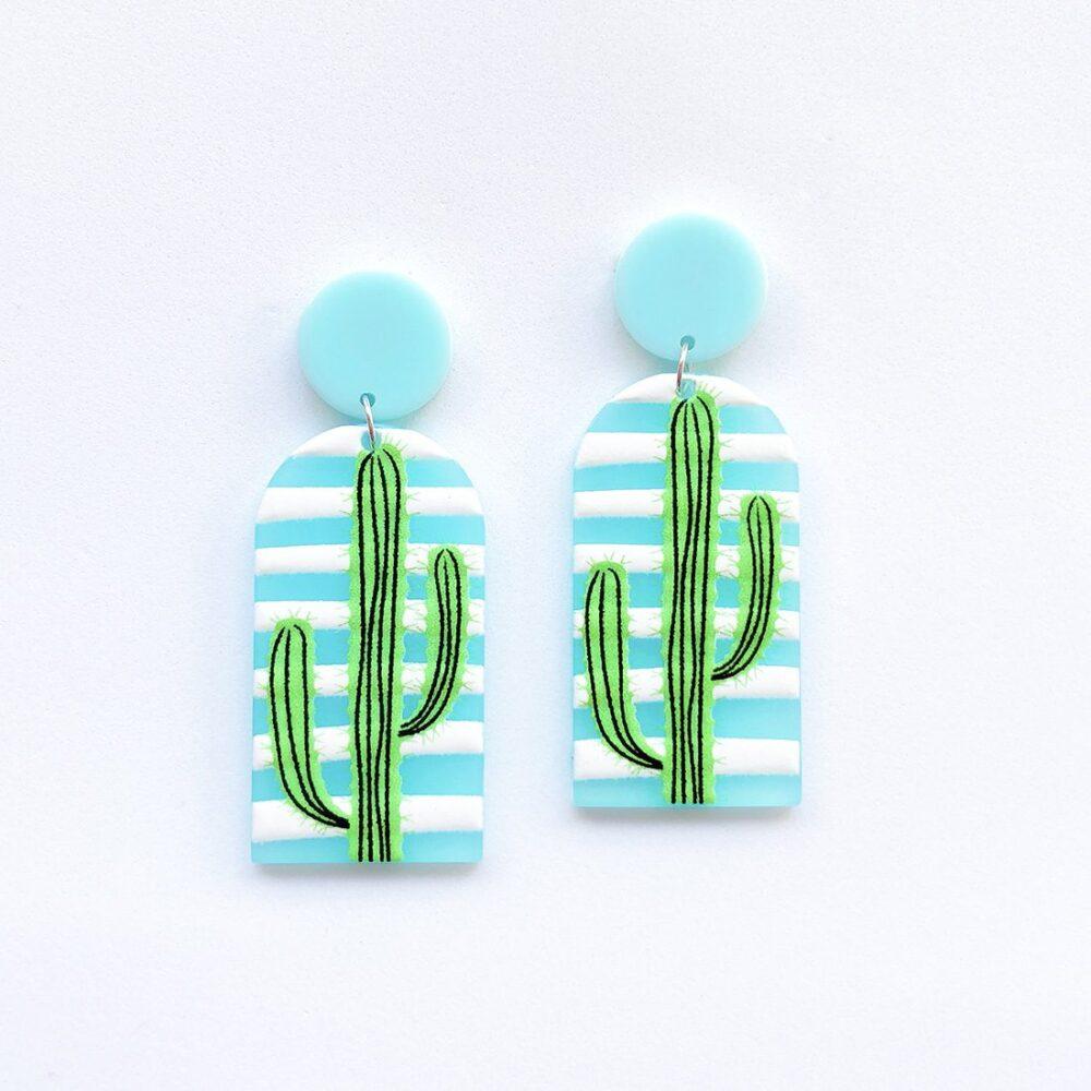 stuck-on-you-striped-cactus-earrings-arcylic-earrings-2