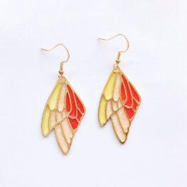 dreamy-cicada-wings-earrings-orange-1