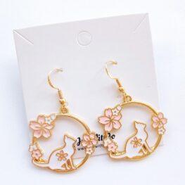 fun-floral-cat-earrings-1