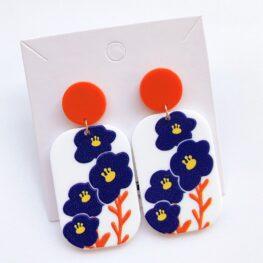 fun-with-flowers-floral-earrings-acrylic-earrings-orange-1a