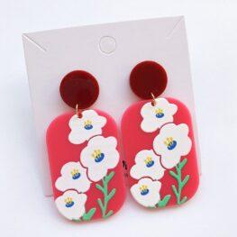 fun-with-flowers-floral-earrings-acrylic-earrings-red-1