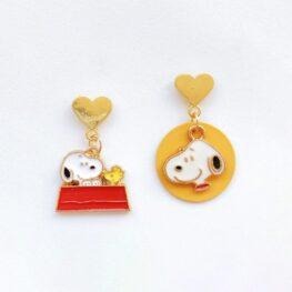 snoopy-and-woodstock-heart-stud-earrings-1