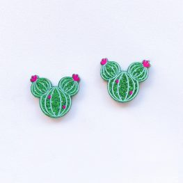 cute-mickey-cactus-stud-earrings-1a