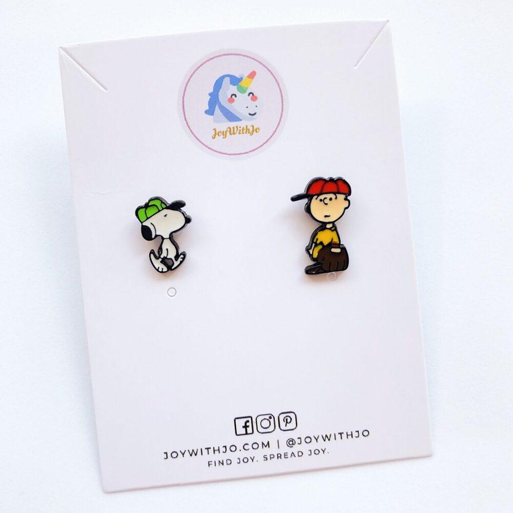 cute-snoopy-and-charlie-brown-stud-earrings-1a