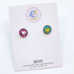 cute-snoopy-and-woodstock-stud-earrings-1a