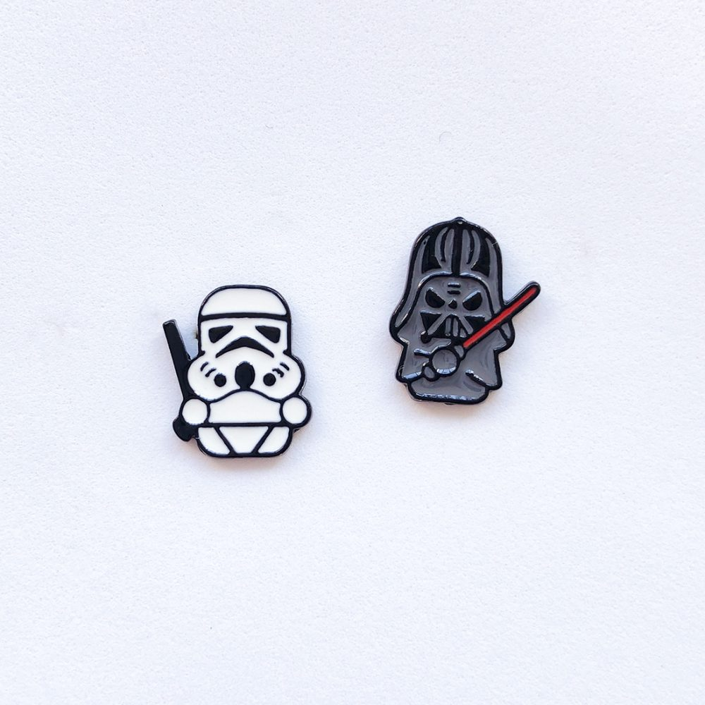 darth-vader-and-stormtrooper-stud-earrings-1a