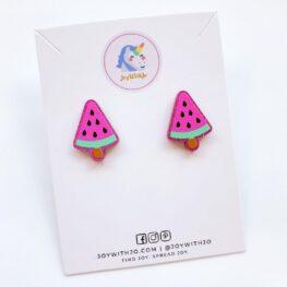 watermelon-popsicle-stud-earrings-1a