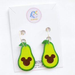 cute-mickey-avocado-dangle-earrings-1a