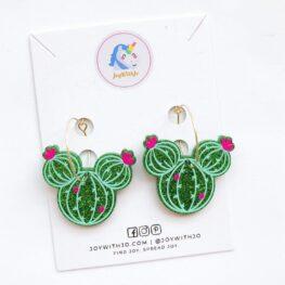 cute-mickey-cactus-dangle-earrings-1a