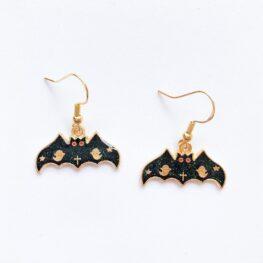 glittery-bats-on-halloween-earrings-1