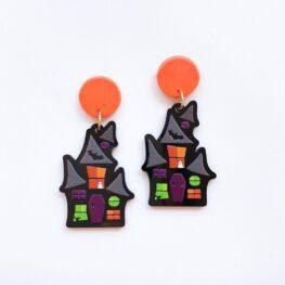 haunted-house-halloween-earrings-1