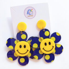 just-smile-and-be-happy-floral-earrings-blue-1