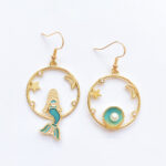 Joy With Jo Reviews the world is your oyster mermaid earrings 1e