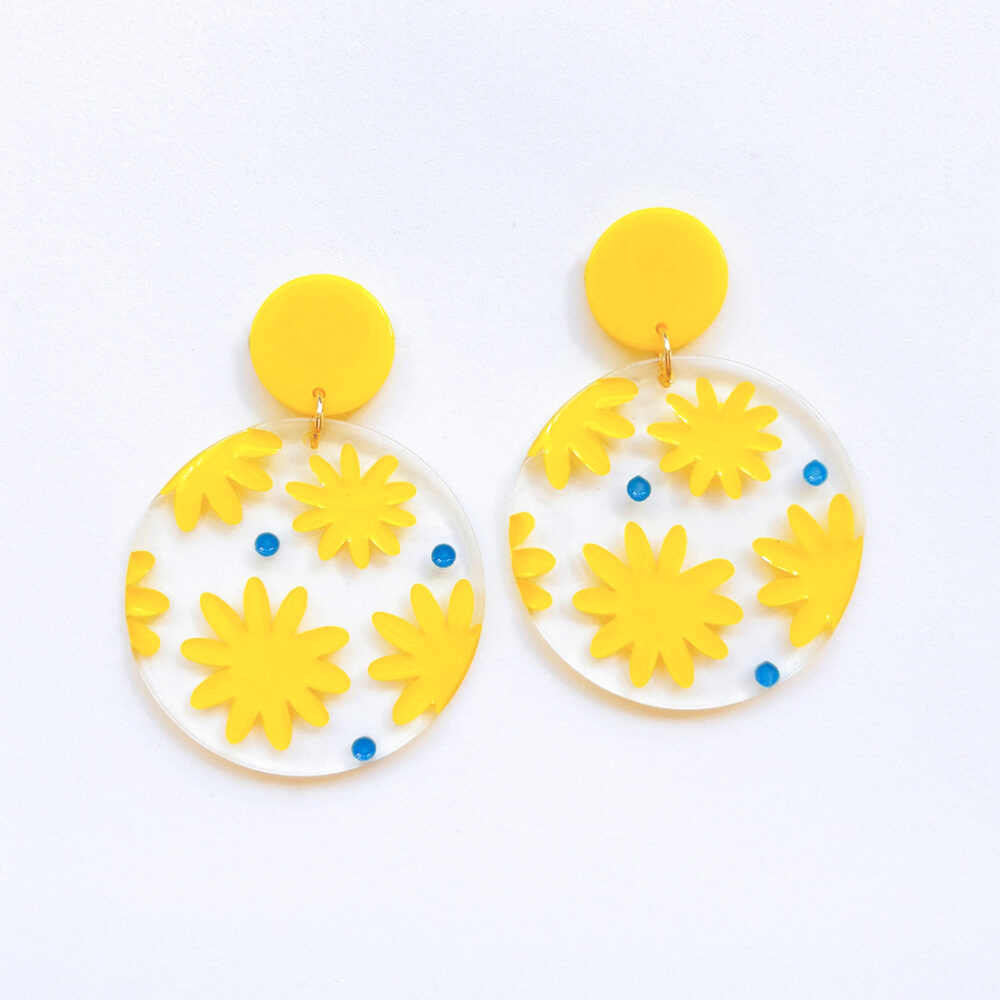 yay-yellow-floral-earrings-1a