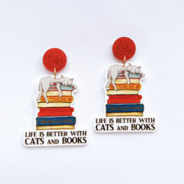cats-and-books-inspirational-earrings-1a