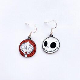 jack-and-sally-enamel-halloween-earrings-1